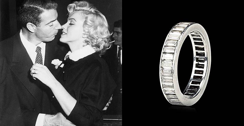 Το ολόβερο δαχτυλίδι με διαμάντια της Marilyn Monroe