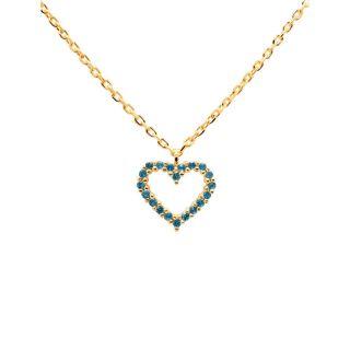 Κολιέ PDPAOLA Celeste Heart Gold