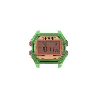 Ρολόι IAM Medium Transparent / Green Pink
