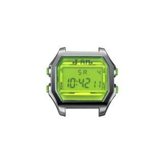 Ρολόι IAM Large Gunmetal / Lime Green