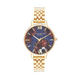 Olivia Burton Demi Lapis Lazuli & Gold Bracelet