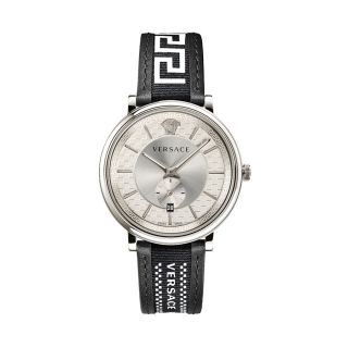Versace V-Circle Greca Edition Silver/Black