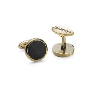 Μανικετόκουμπα Montegrappa Classico Gold / Black