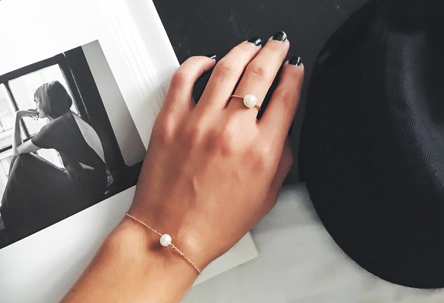 Κοσμήματα με μαργαριτάρι