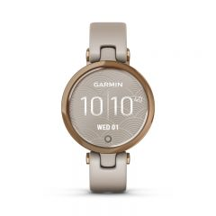 Garmin Lily Sport Rose Gold & Light Sand Silicone
