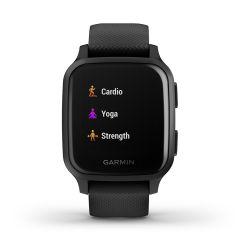 Garmin Venu Sq Music GPS Smartwatch Black / Slate
