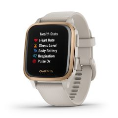 Garmin Venu Sq Music GPS Smartwatch Light Sand / Rose Gold