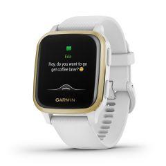 Garmin Venu Sq GPS Smartwatch White / Gold