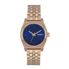 Nixon The Time Teller Medium Rose Gold/Blue