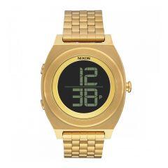 Nixon The Time Teller Digi SS Gold