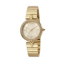 Just Cavalli Glam Chic Crystals Gold