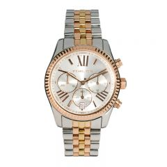 Michael Kors Lexington Chronograph Tri-Tone