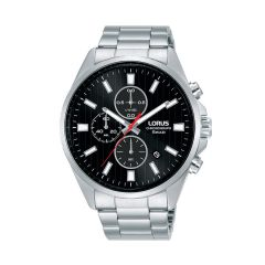 Lorus Sports Date Chrono Silver / Black Red