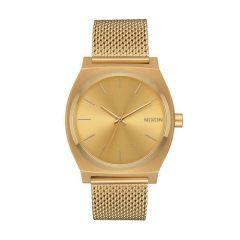 Nixon Time Teller Milanese Gold