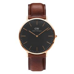 Daniel Wellington Classic Black Classic St Mawes 40mm Rose Gold