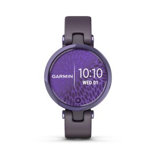 Garmin Lily Sport Midnight Orchid & Orchid Silicone