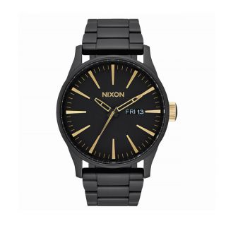 Nixon Sentry SS Matte Black Gold