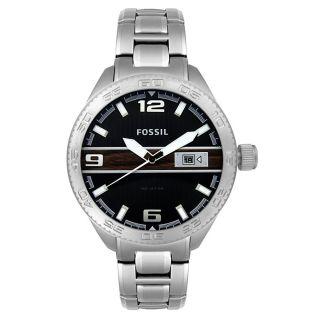 Fossil Stainless Steel Bracelet Black Dial