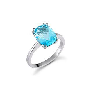 Δαχτυλίδι τοπάζι