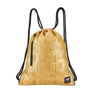 Nixon Everyday Cinch Bag Star Wars C-3PO Gold
