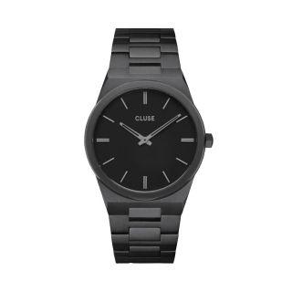Ρολόι Cluse Vigoureux Steel Total Black