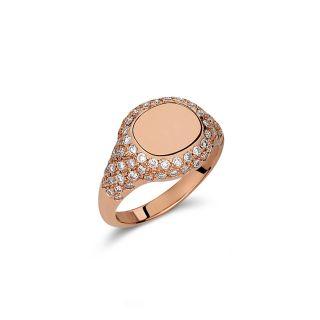 Δαχτυλίδι σεβαλιέ με διαμάντια