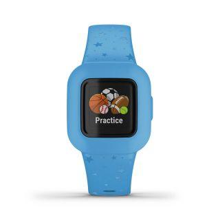 Garmin Vivofit Junior 3 Kids Fitness Tracker Blue Stars.