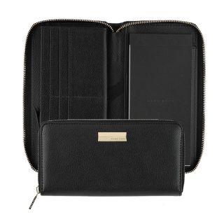 Hugo Boss πορτοφόλι-σημειωματάριο Vivid Black