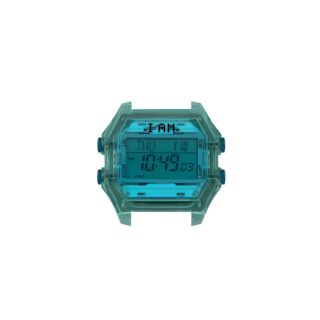 Ρολόι IAM Medium Transparent / Mint Light Blue