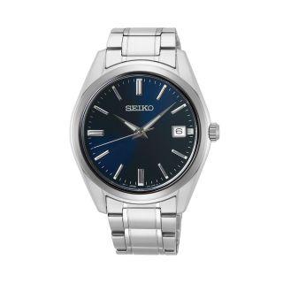 Seiko Classic Date Silver / Blue