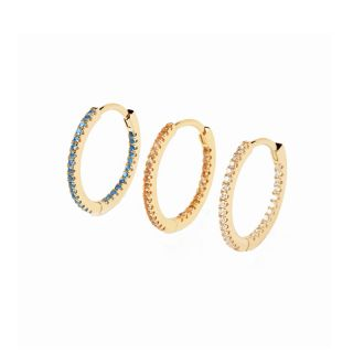 Σκουλαρίκια PDPAOLA Fresh Medium 3 Earrings Set