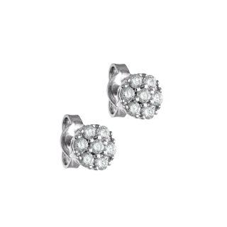 Σκουλαρίκια με διαμάντι