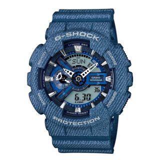 Casio G-Shock Anadigi Blue Rubber Strap