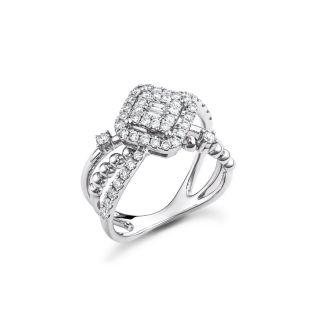 Δαχτυλίδι με διαμάντια
