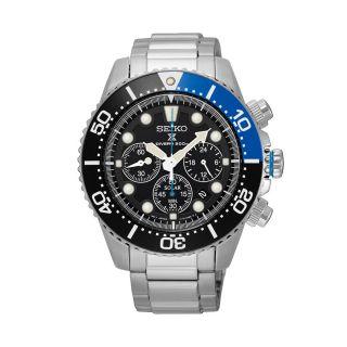 Seiko Prospex Solar Divers Silver / Black Blue